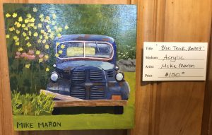 Mike Maron Blue Truck