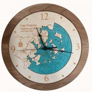 Clock-Wood Cape Porpoise Harbor