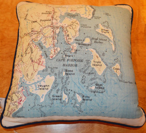Cape Porpoise Pillow