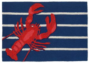 rug transocean lobster