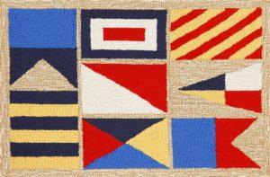 rug-transocean sail flag