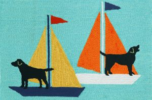 rug-transocean sailing dogs