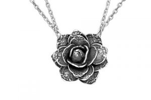 silverspoon-Rose necklace