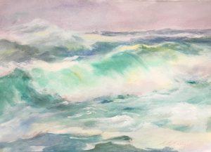 Artist Ann Murphy Heavy Seas 16x22 w__c