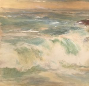 Artist Ann Murphy High Tide and Surf 27x28 w_c