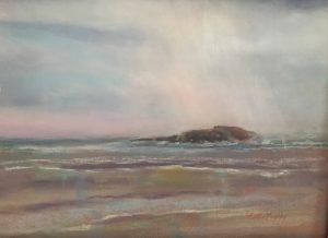 Artist Ann Murphy Mid-Coast Maine 17x24.5 Pastel