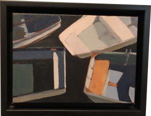 Artist Berri Kramer Harbor Kiss I Acrylic Painting