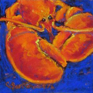 Artist Carol Santora Mainer Pastel Painting
