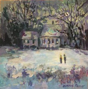 artist-dennis-poirier-winter-glow-unf-6x6