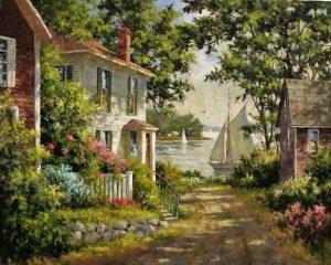 artist-gary-shepard-24x30-sailors-cove-oil-painting