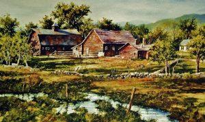 artist-gary-shepard-40x60-barn-watercolor