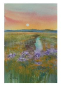 """Sunset Marsh"""