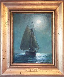 artist-richard-hasenfus-night-sail-oil