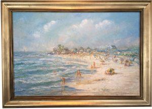 Artist Richard Hasenfus Summer Day Mothers Beach 455