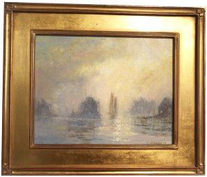 Artist Richard Hasenfus Sunrise Oil Painting