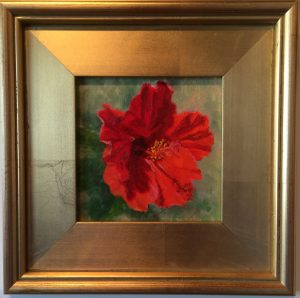 Artist Susan Roux Hibiscus  Oil on Canvas