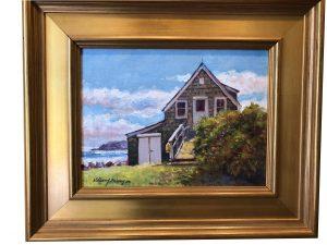 Artist William Maloney Fish House