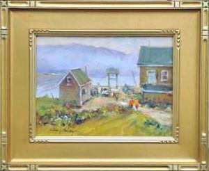 """alt = """"Artist William Maloney - Landing"""""""