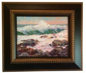 Artist William Maloney Surf in the Summer