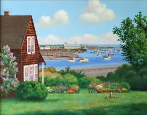 """alt = """"Artist Gretchen Huber - Gallery View"""""""