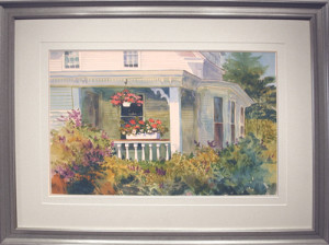 Artist Nancy St. Lawrence - Porch