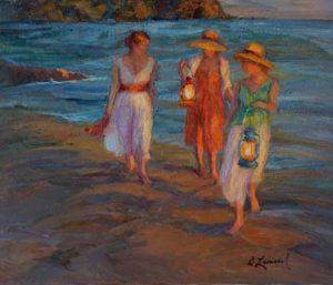 Artist Diane Leonard Frieds
