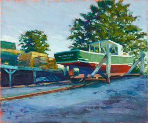 artist-paul-bonneau-hauled-out-cape-porpoise