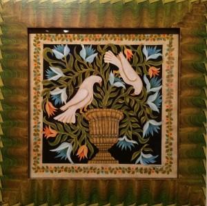 Artist Claudia Hopf-White Doves