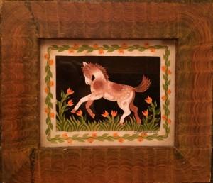 Artist Claudia Hopf-horses