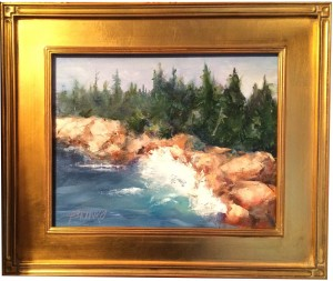 Artist Judy Brunko-Rocky Waves