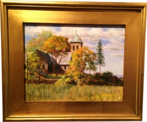 Artist Richard Yeager-Spring at St Annes