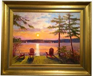 Artist William Maloney-Annies Sunset