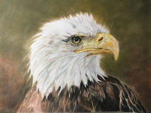 Artist Helene Rush Eagle