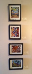 Artist Marcia Haskell Anzalone-Collages 1-4