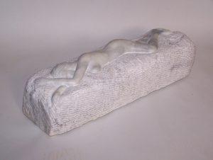 Artist-William Janelle-Female Nude-Marble