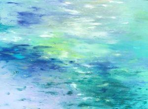 Artist Susan Vittner Aqua Light