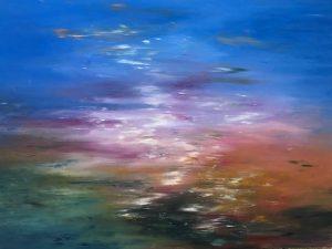 Artist Susan Vittner Light in the Meadow Acrylic
