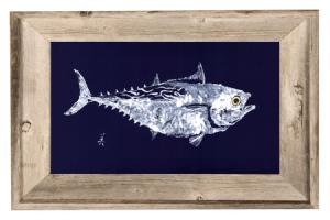 Artist John Doherty false-albacore-driftwood_frame-450x300