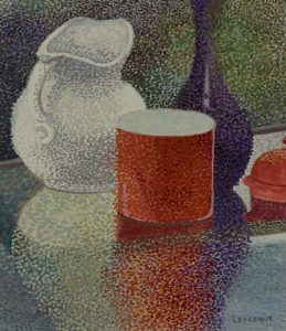 Artist Priscilla Levesque Still Life with Reflections