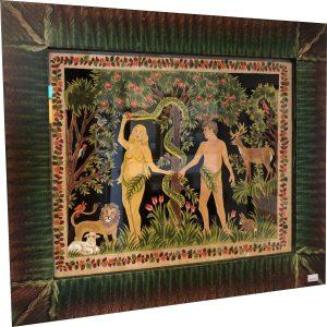 Artist Claudia Hopf Adam & Eve Scherenschnitte