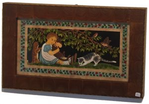 Artist Claudia Hopf Three cats Scherenschnitte