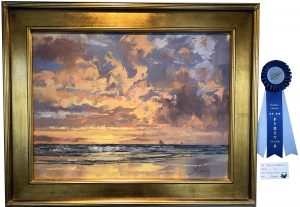 "Artist Choice ""Blue & Gold"" by James Nelson Lewis"