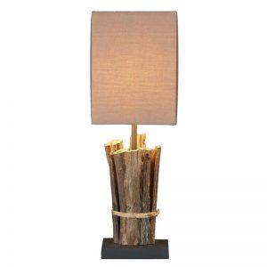 lamp continental home teak