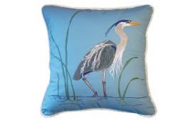 pillow rightside heron