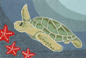 rug transocean turtle