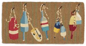 """alt = """"Hand hooked wool rigs by Laura Megroz"""""""