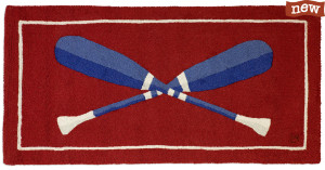 """alt = """"Hand hooked wool rug by Laura Megroz"""""""