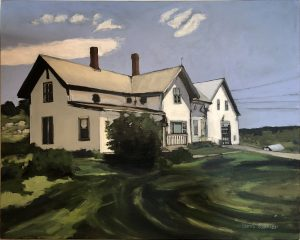 Artist Berri Kramer Jordan Farm Revisited Acrylic Painting