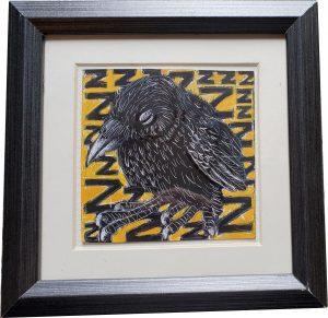 Sleeping Raven