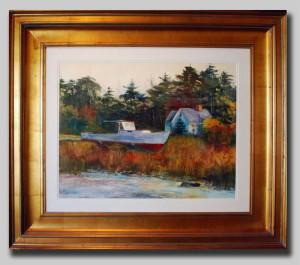 Artist Nancy St. Lawrence - Dry Docked 2